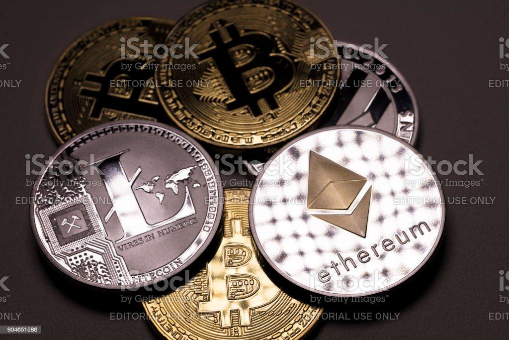 Bitcoin Astraleums und litecoin – Foto