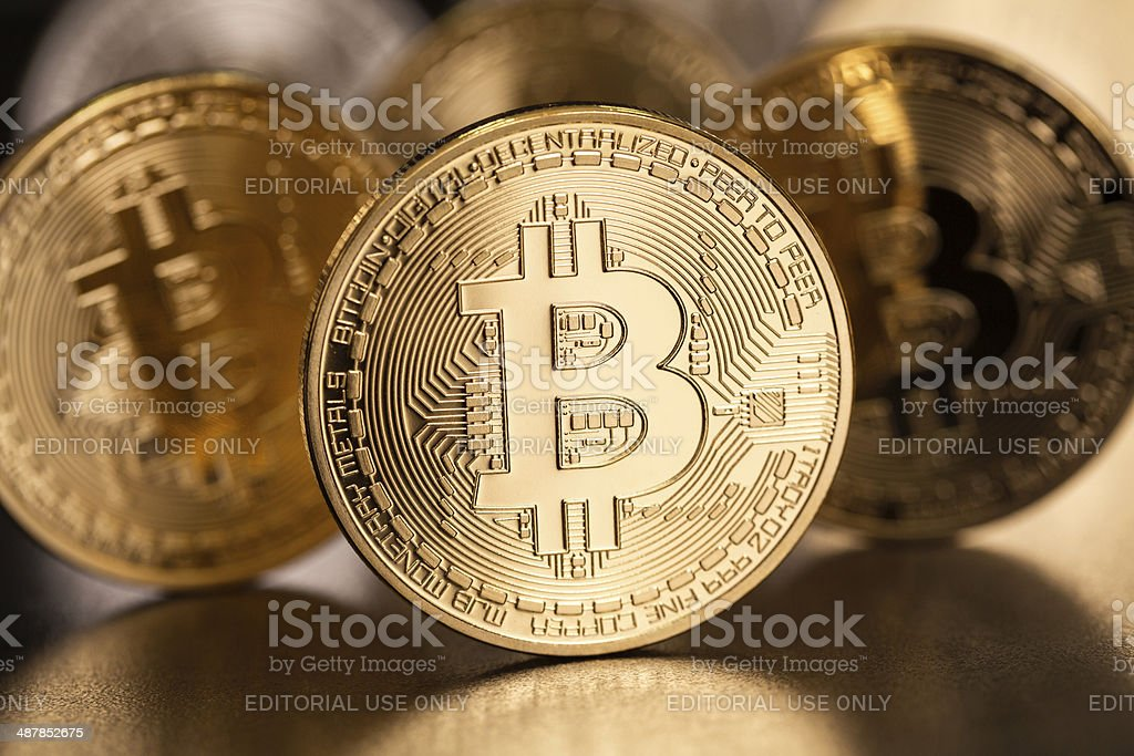 Bitcoin royalty-free stock photo