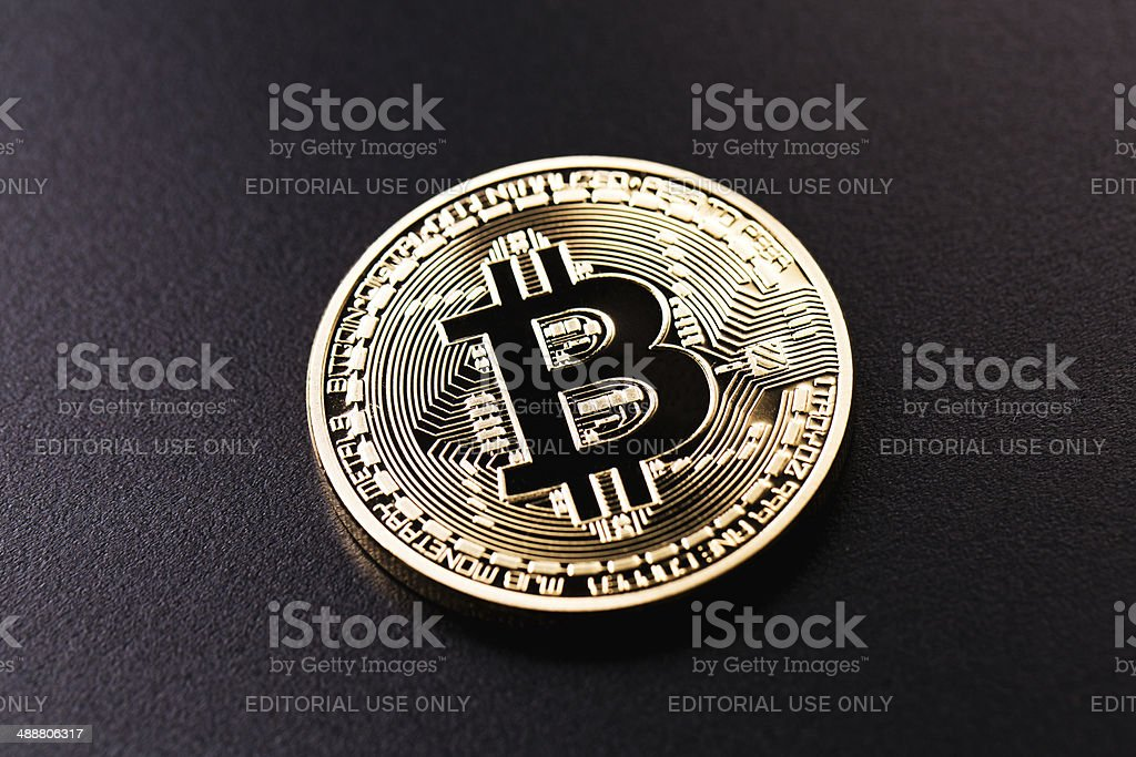 Bitcoin stock photo