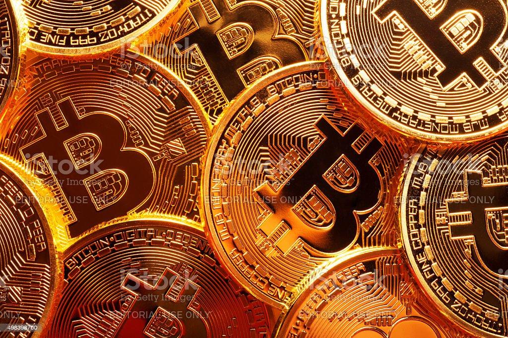 Bitcoin royalty-free stock photo