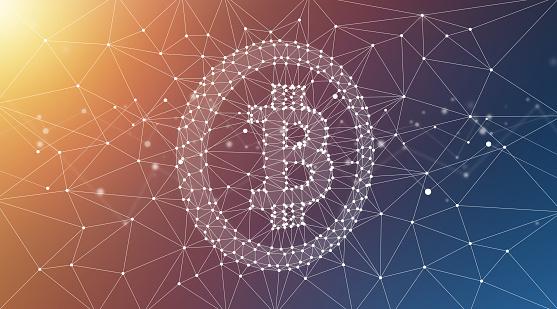 944923496 istock photo Bitcoin Symbol and Blockchain Network Graphic Background 1178266327