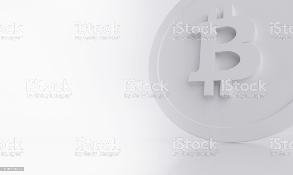 Bitcoin Symbol Crypto Coin Stock Photo More Pictures Of Abstract