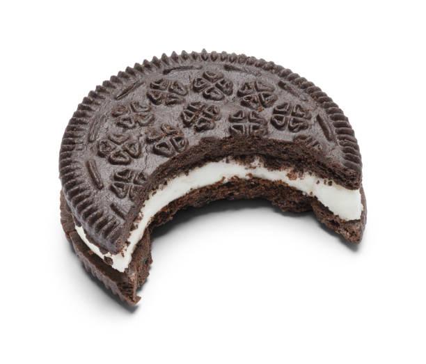 Mordida de Cookie - foto de acervo