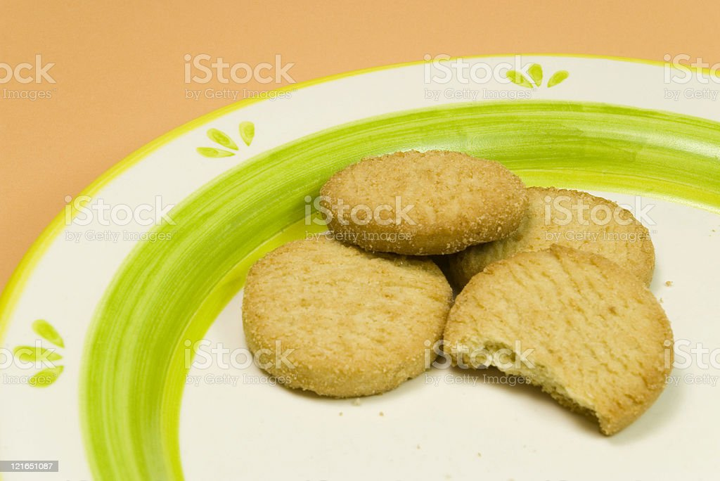 bite of cookies royalty-free stock photo