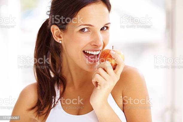 Bite Of The Apple Stock Photo - Download Image Now