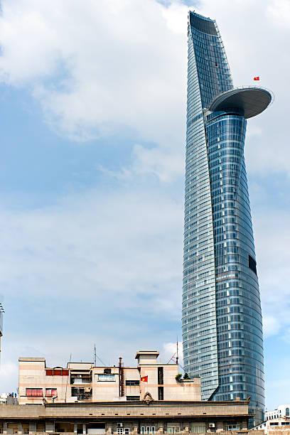 bitexco financial tower, ho-chi-minh-stadt, vietnam. - holu stock-fotos und bilder