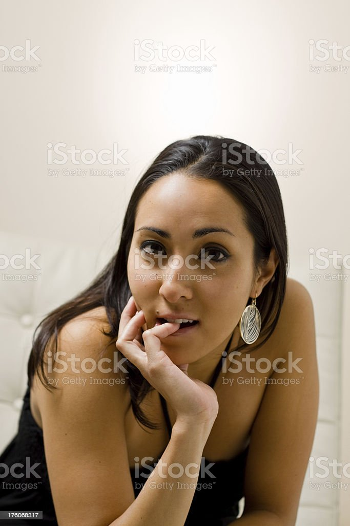 biting royalty-free stock photo