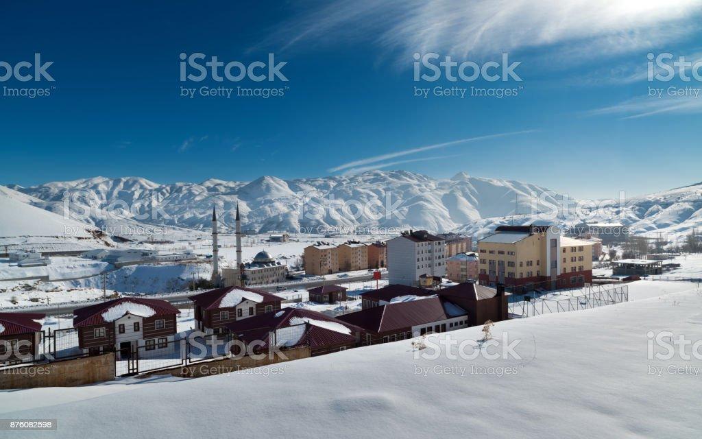 Bitlis city stock photo