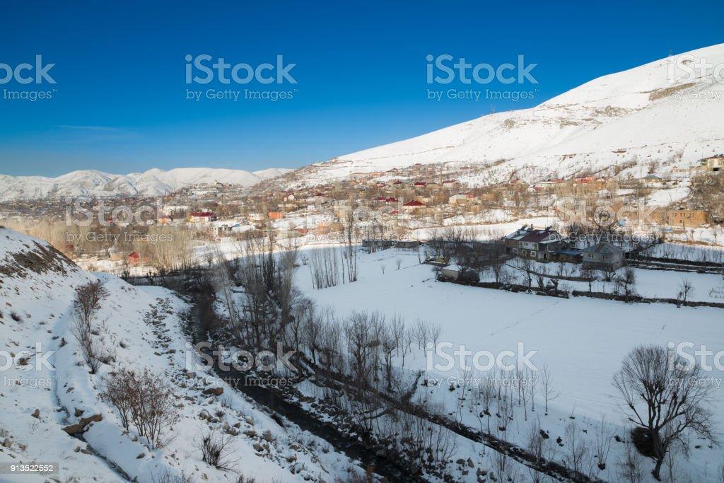 Bitlis City , Turkey stock photo