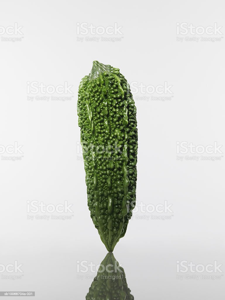 Bitter melon, close-up royalty-free stock photo