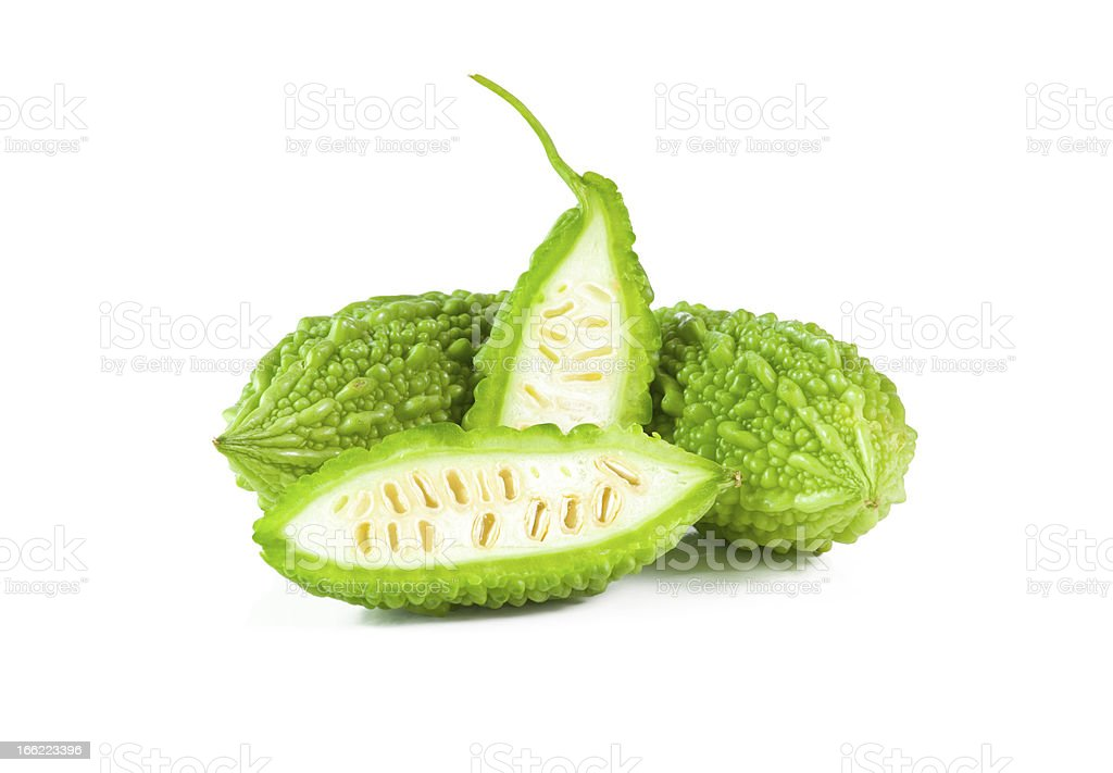 Bitter melon royalty-free stock photo