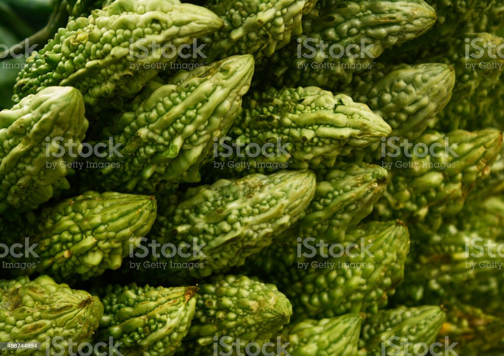 Bitter melons stock photo