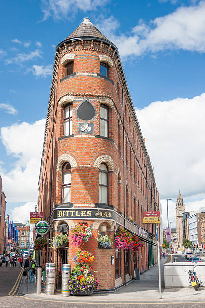 Bittles Bar in Belfast stock photo