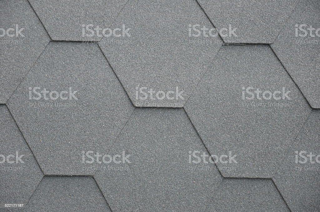 Bitumen roof stock photo
