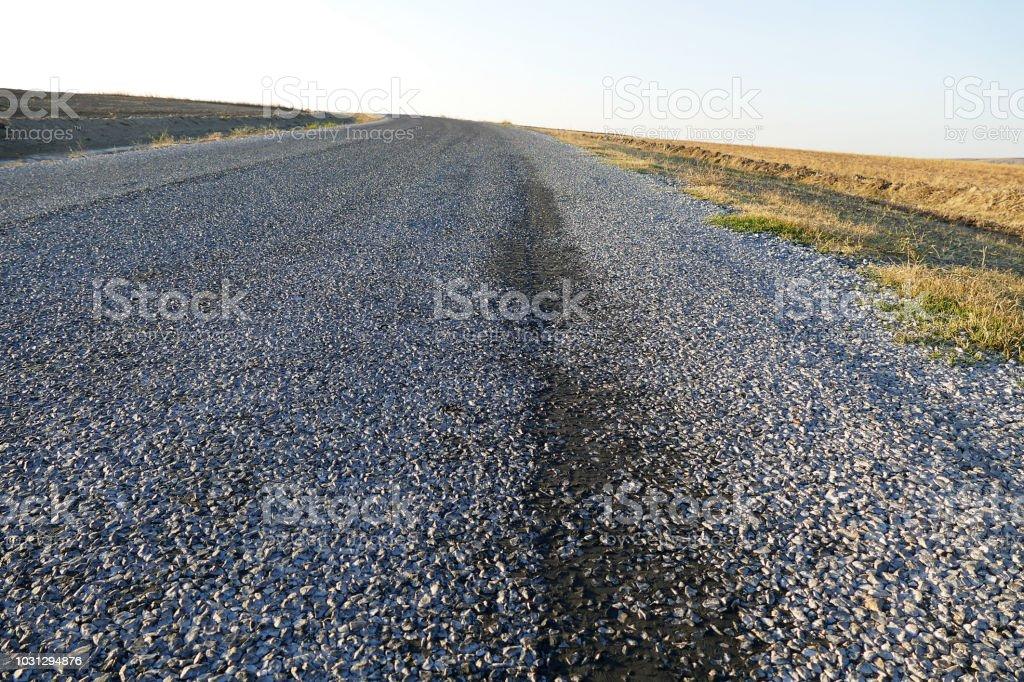 Bituminous Asphalt Road Stock Photo - Download Image Now