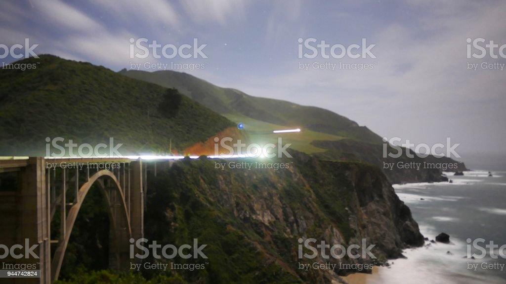 Bixby Bridge, Big Sur, CA stock photo
