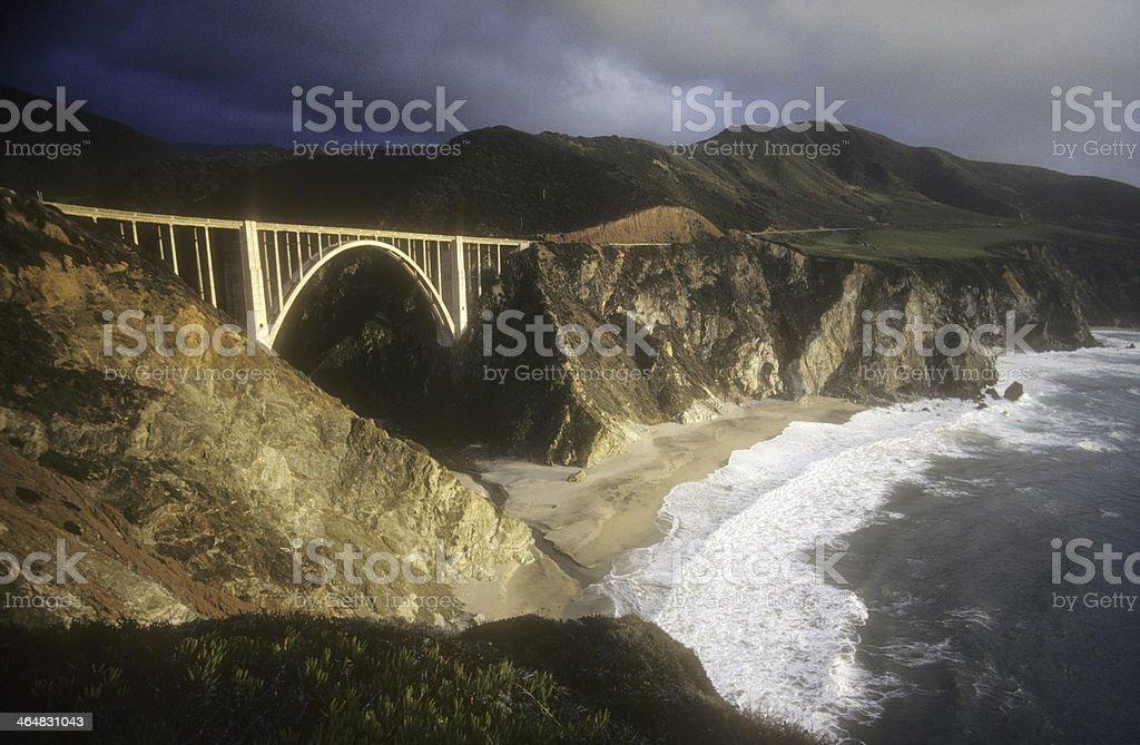 Bixby Creek Bridge, CA stock photo