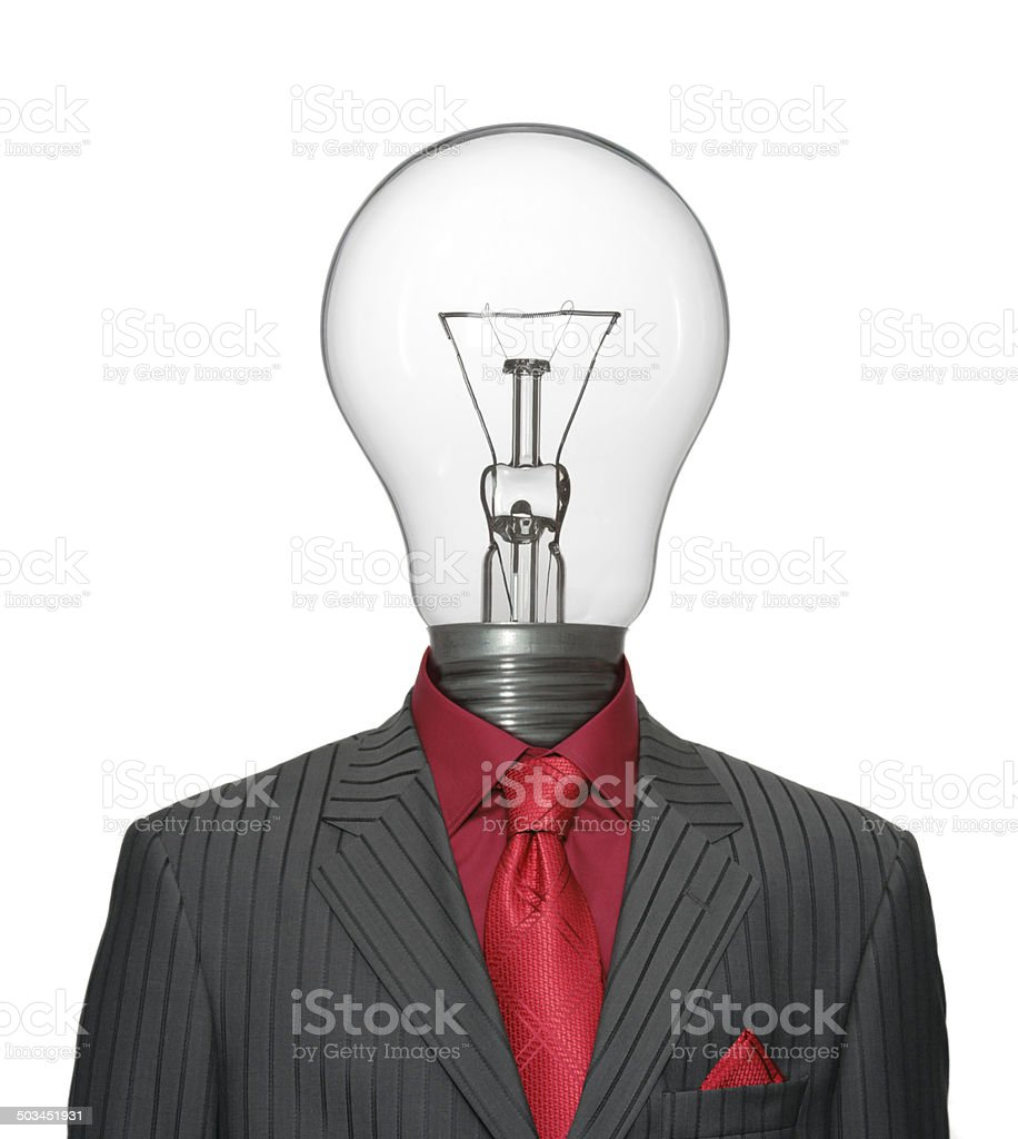 Bizarre Ideaman stock photo