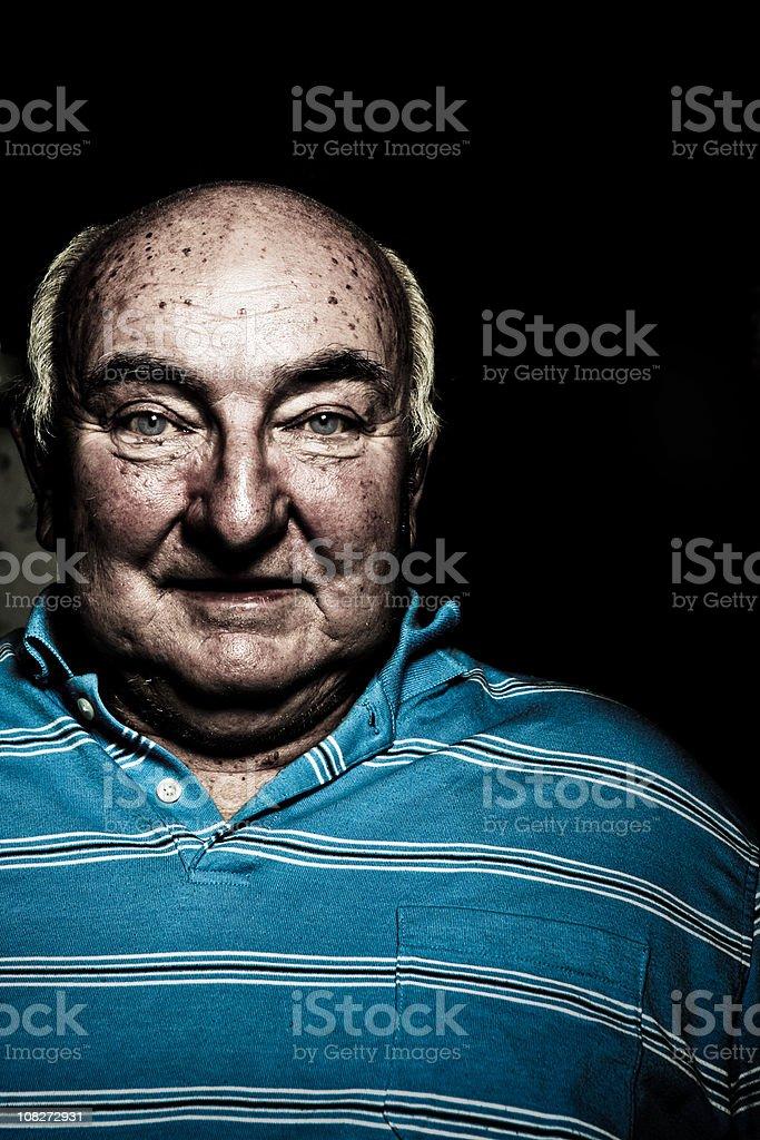 Bizarre Old Man royalty-free stock photo