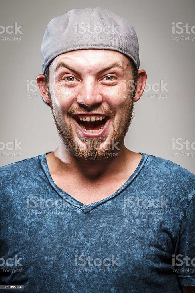 Bizarre Portrait stock photo