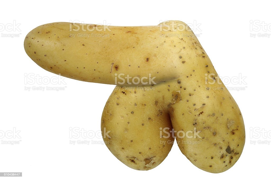 bizarre potato stock photo