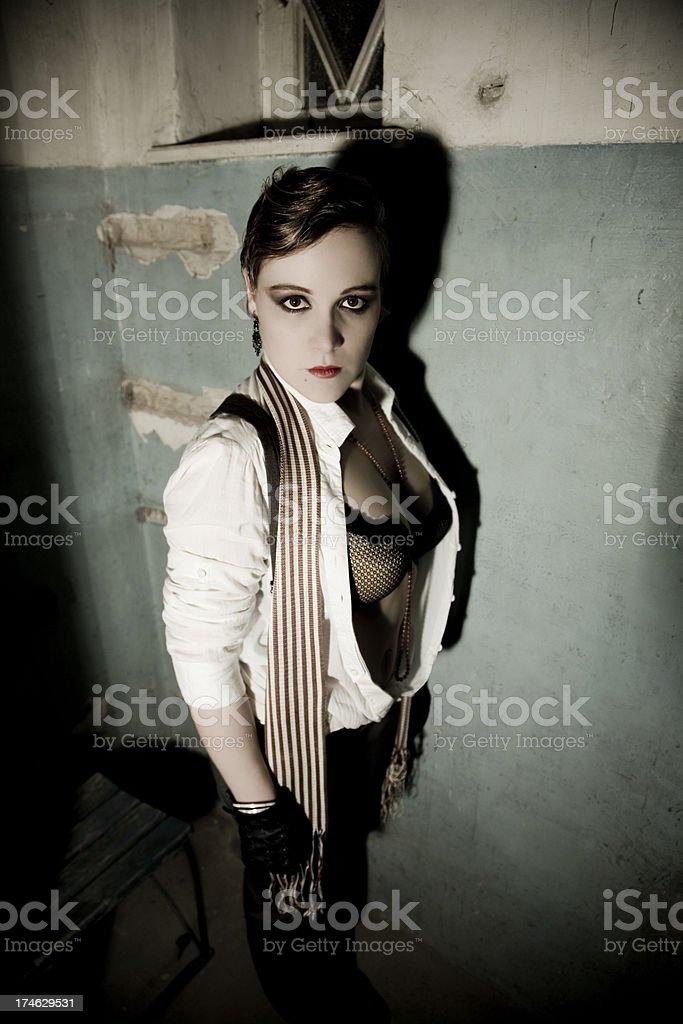 Bizarre Woman Portrait Stock Photo - Download Image Now