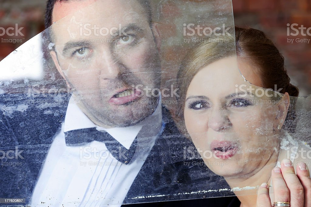 bizzare grooms royalty-free stock photo