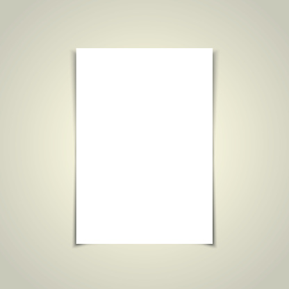 A4 paper with gray background