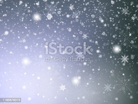 530427918 istock photo Black abstract texture background with white snowflakes bokeh blurred shiny use wallpaper backdrop and your product. 1185876373