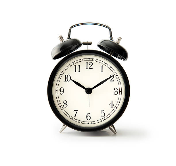 black alarm clock - alarm stock pictures, royalty-free photos & images