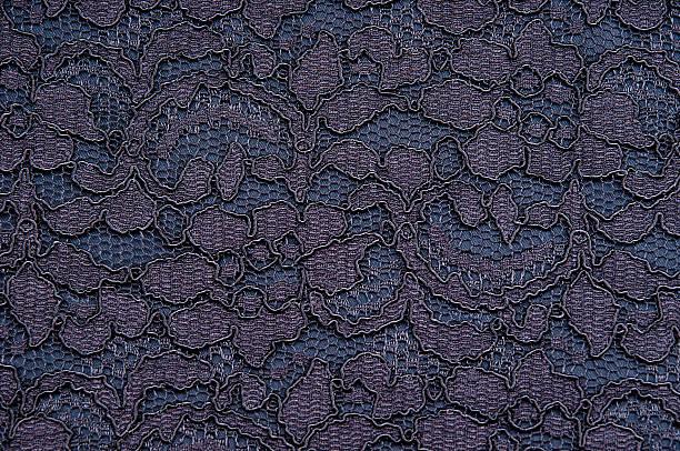 Black and blue damask stock photo