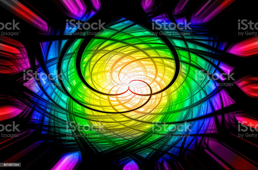 Black and colorful backgrounds photo libre de droits