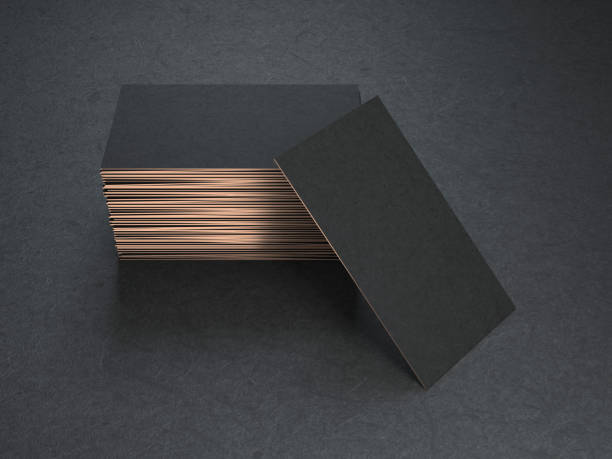 Royalty free business card design pictures images and stock photos black and gold blank business cards mockup stock photo reheart Choice Image