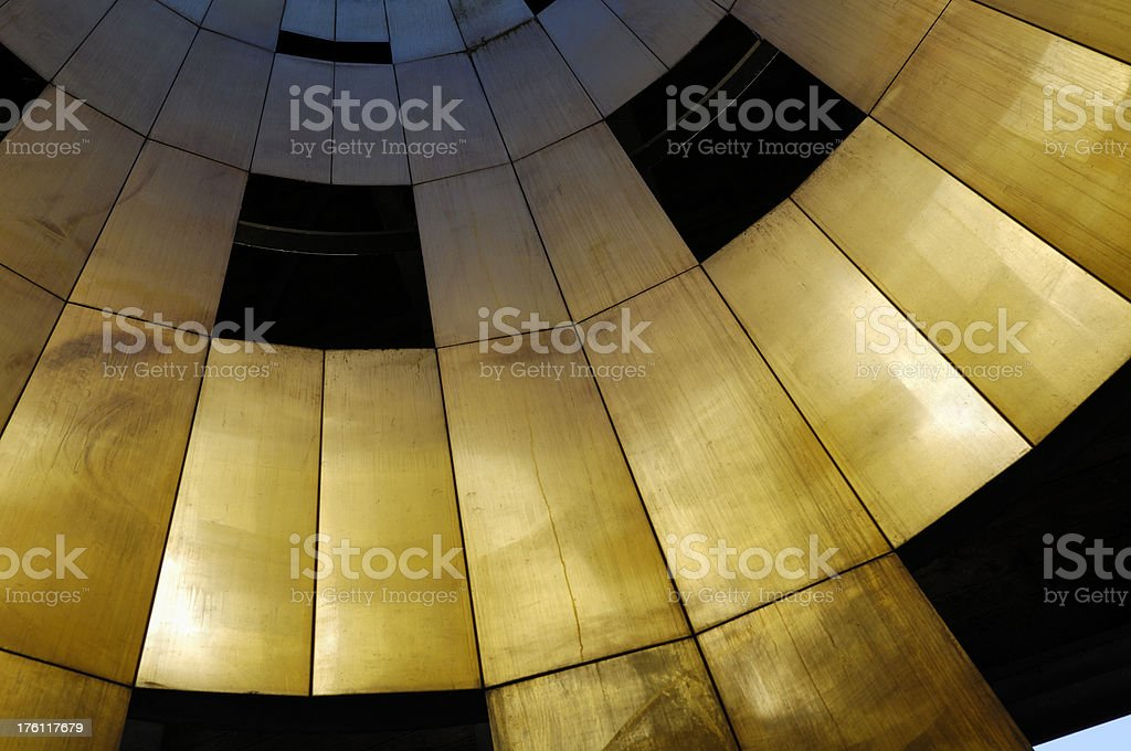 Black and gold royalty-free stock photo
