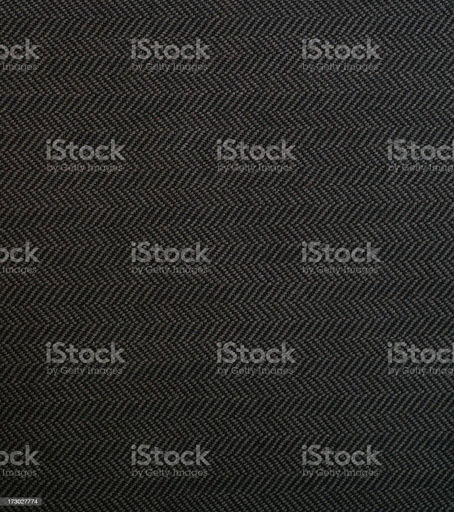 Black and Grey Herringbone Cloth stock photo
