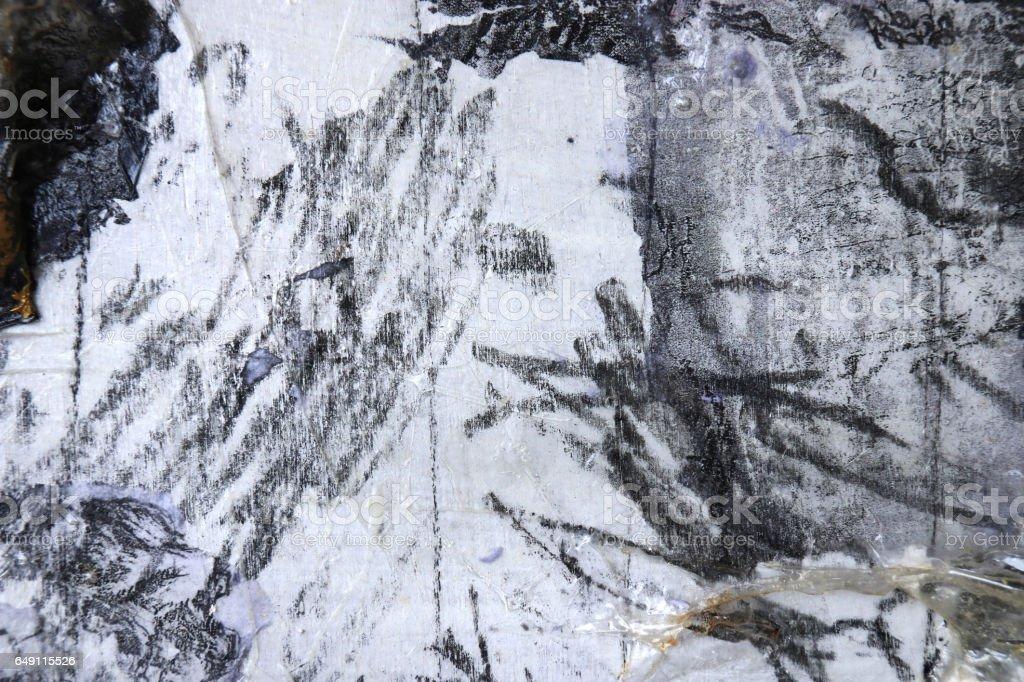 Schwarz Weissabstrakte Kunsthintergrund Punkt Linie Und Texturen Transfer Und Mixed Media An Bord Moderne Kunst Zeitgenossische Kunst Stockfoto Und Mehr Bilder Von Abstrakt Istock