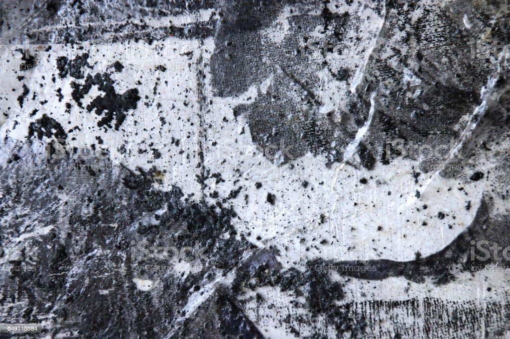 Wonderbaarlijk Zwartwit Abstracte Kunst Achtergrond Punt Lijn En Texturen WA-23