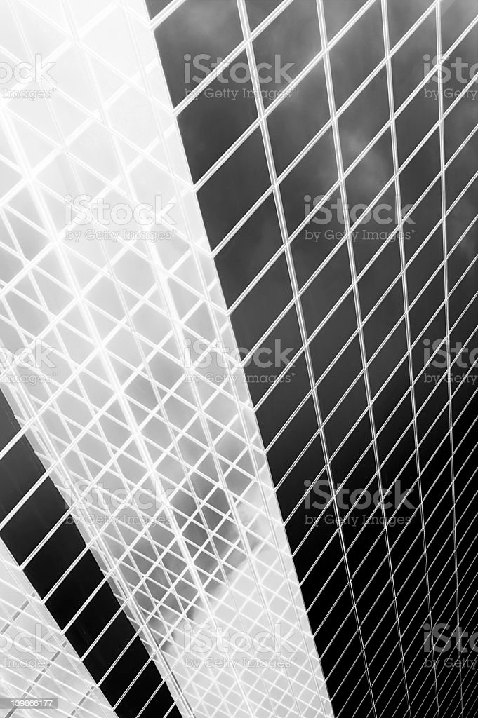black and white abstract royalty-free stock photo
