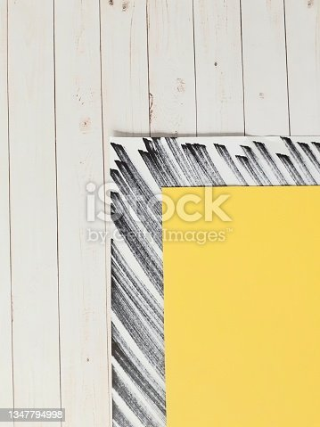 istock Black and white and yellow background 1347794998
