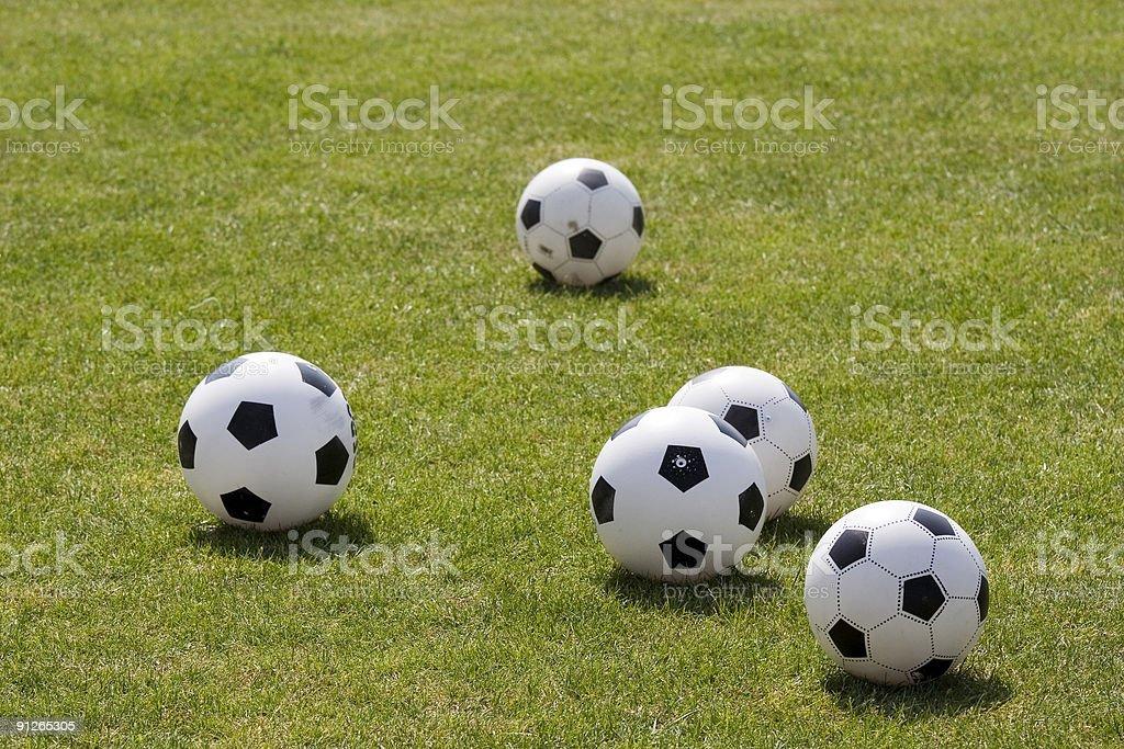 Black and White Balls #2 stock photo