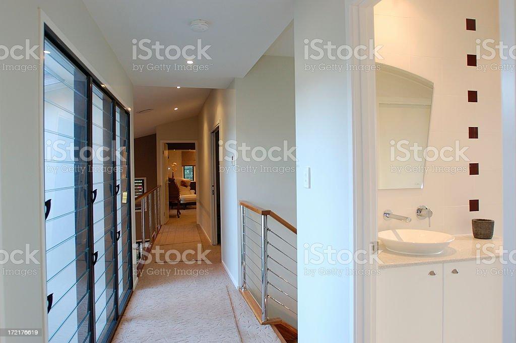 Black and White Bathroom #1 stock photo