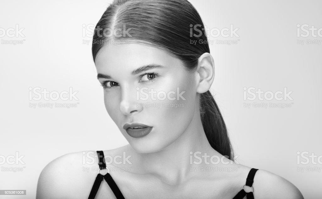 Adult black female model