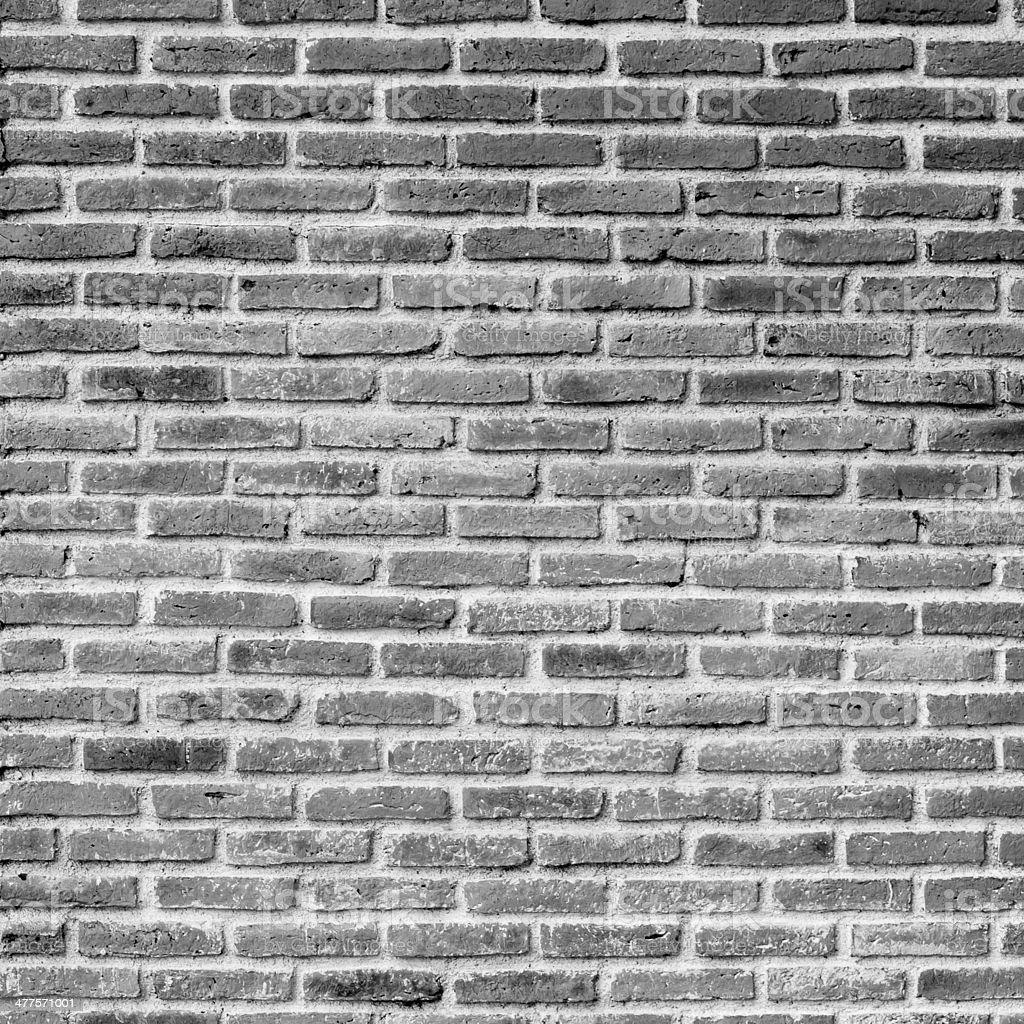 black and white brick wall royalty-free stock photo