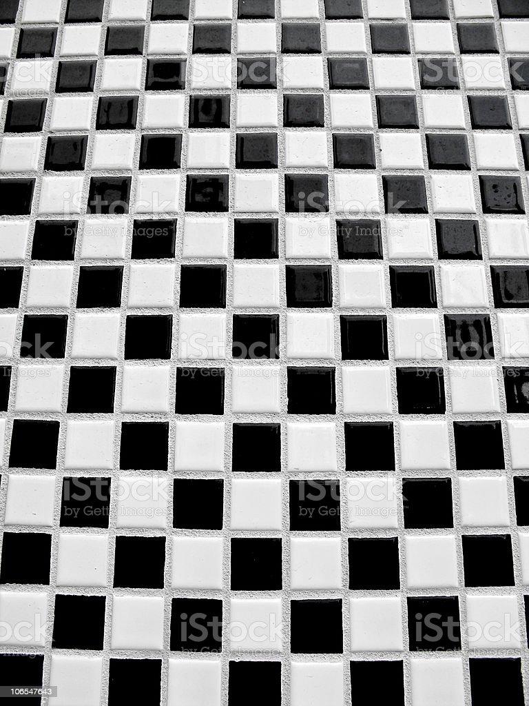 Photo Libre De Droit De Carrelage Damier Noir Et Blanc