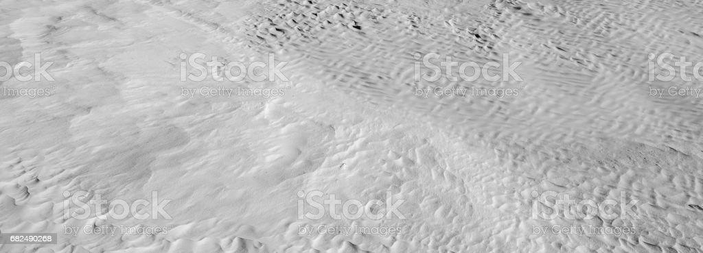 Zwart-wit kleur (B&W). Natuurlijke textuur en de achtergrond van de woestijn. Zand patronen royalty free stockfoto