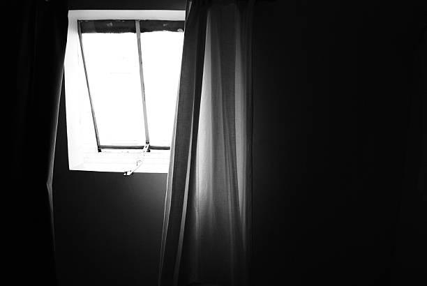 Rideaux noir et blanc - Photo