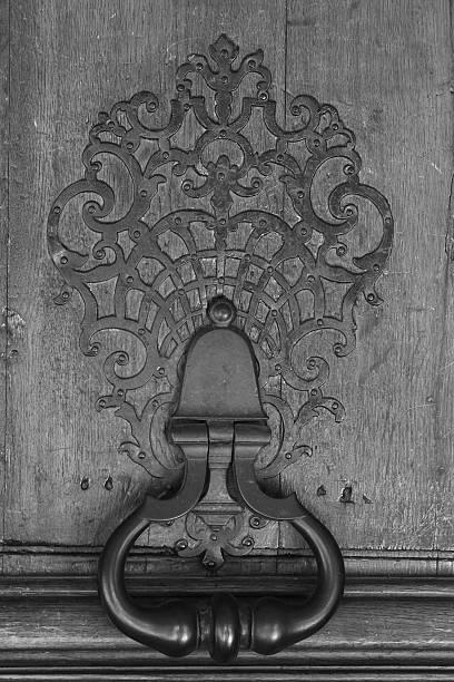 Large Iron Door Knocker Creamy White Shabby Chic New House |White Door Knocker