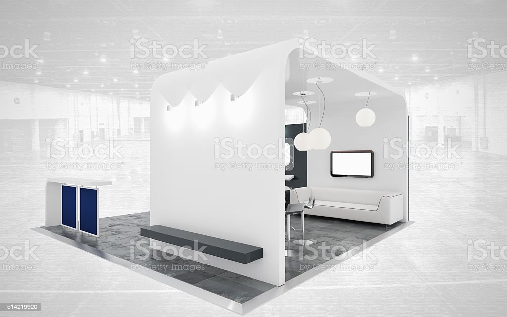 Exhibition Stand White : Black and white exhibition stand stock photo more pictures of