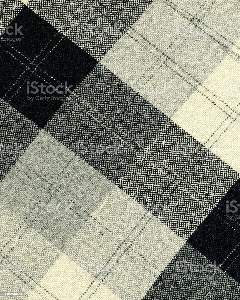 black and white fabric royalty-free stock photo