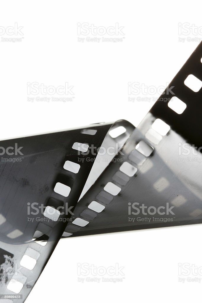 Black and white film royalty-free stock photo